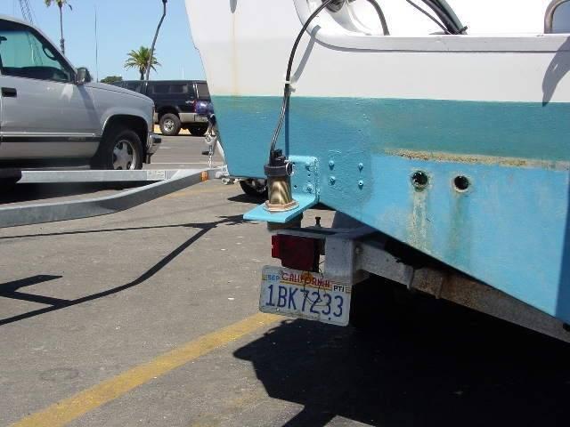 Thru Hull Transducer Installed on Transom   Bloodydecks