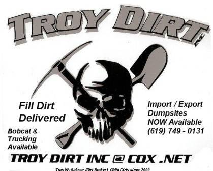 Free Fill Dirt Delivered All Areas | Bloodydecks