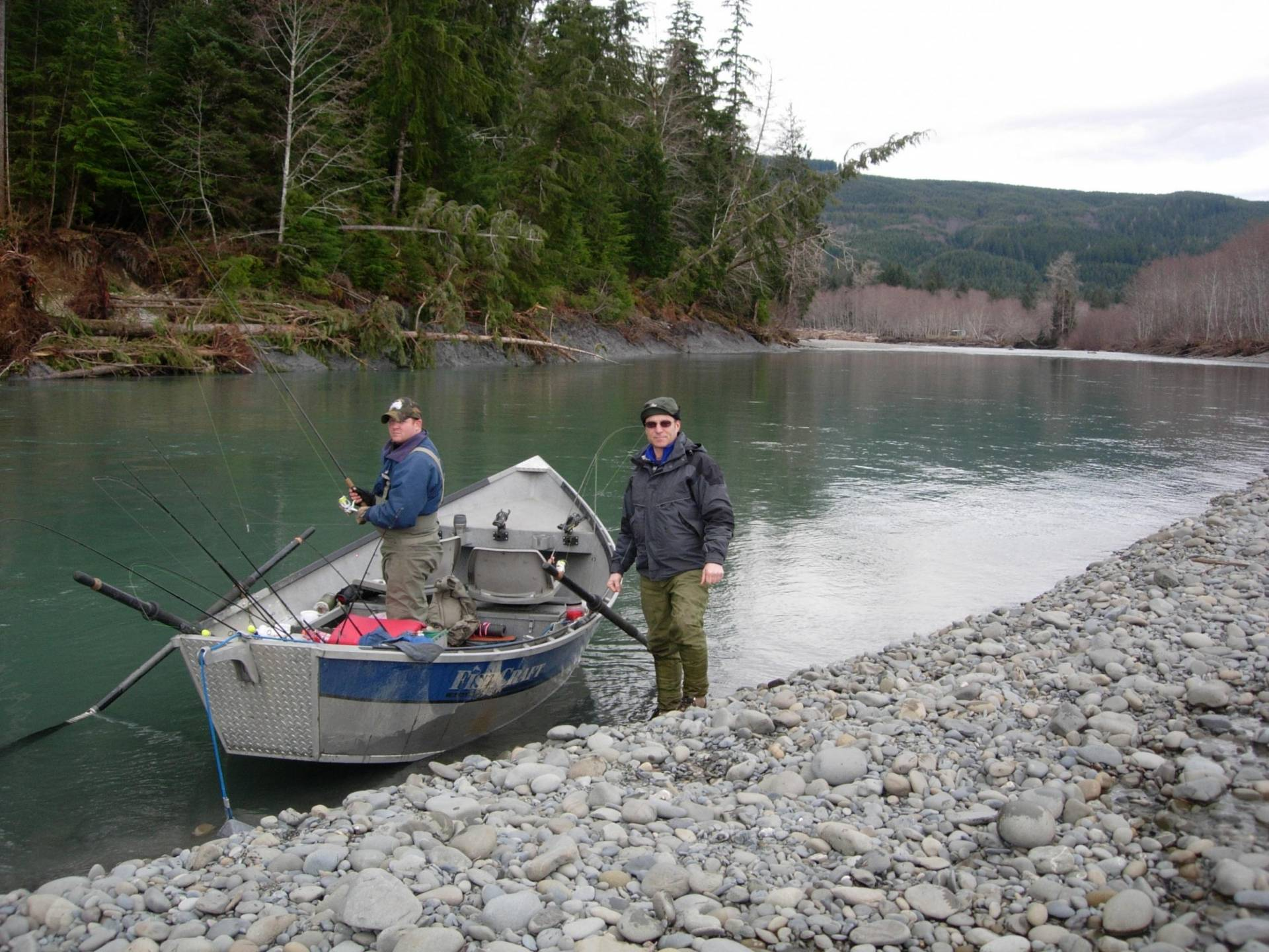 Wa state drifting the hoh river saltwater fishing forums for Hoh river fishing