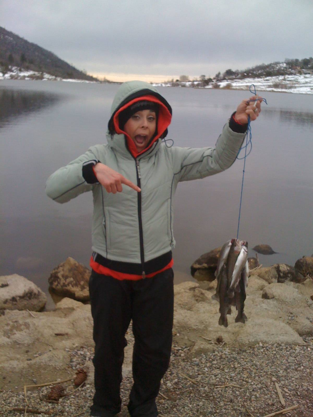 lake cuyamaca fishing report Lake Cuyamaca 2-15-09 | Bloodydecks