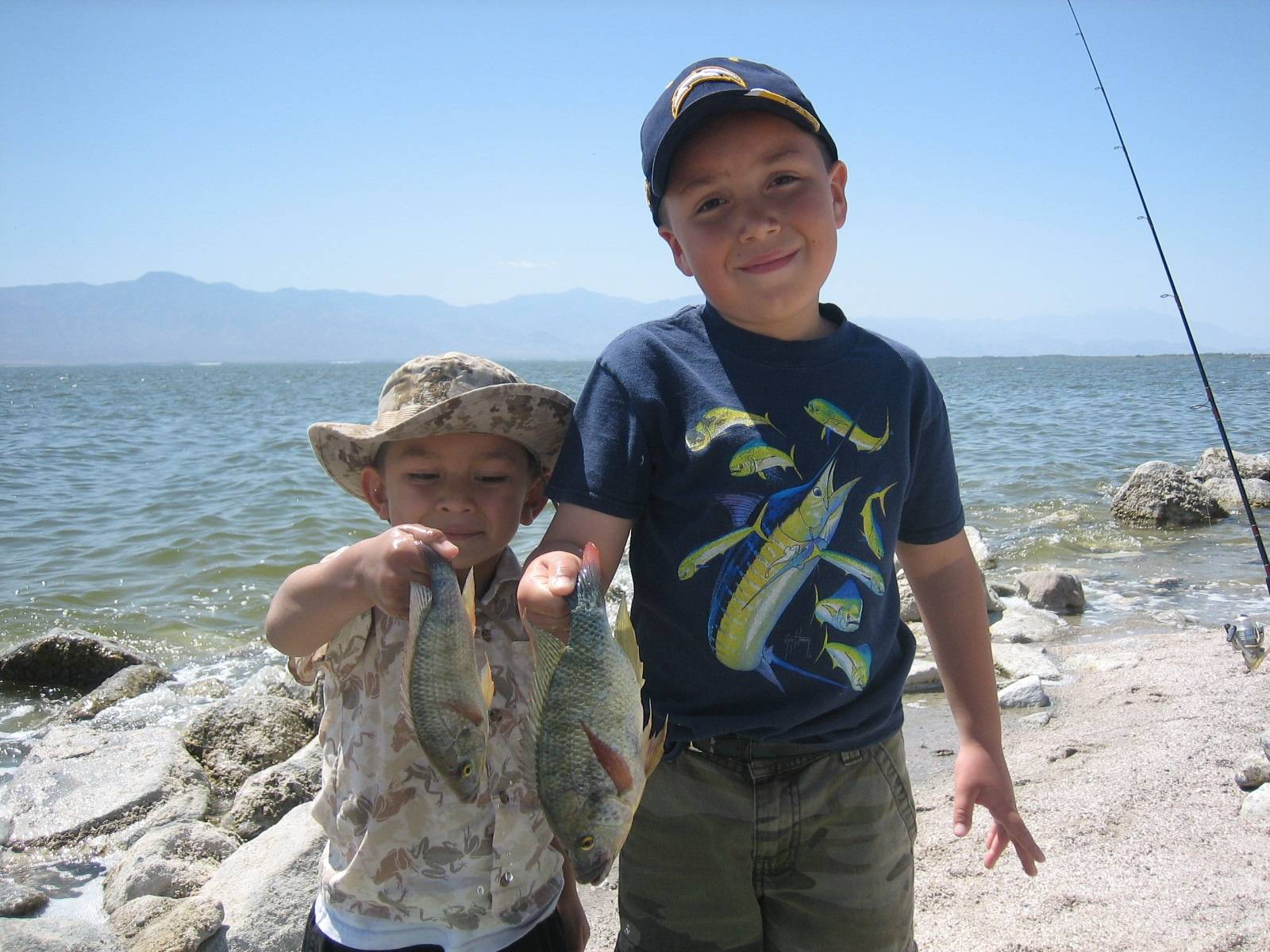 04 16 wfo salton sea report saltwater fishing forums for Salton sea fishing report