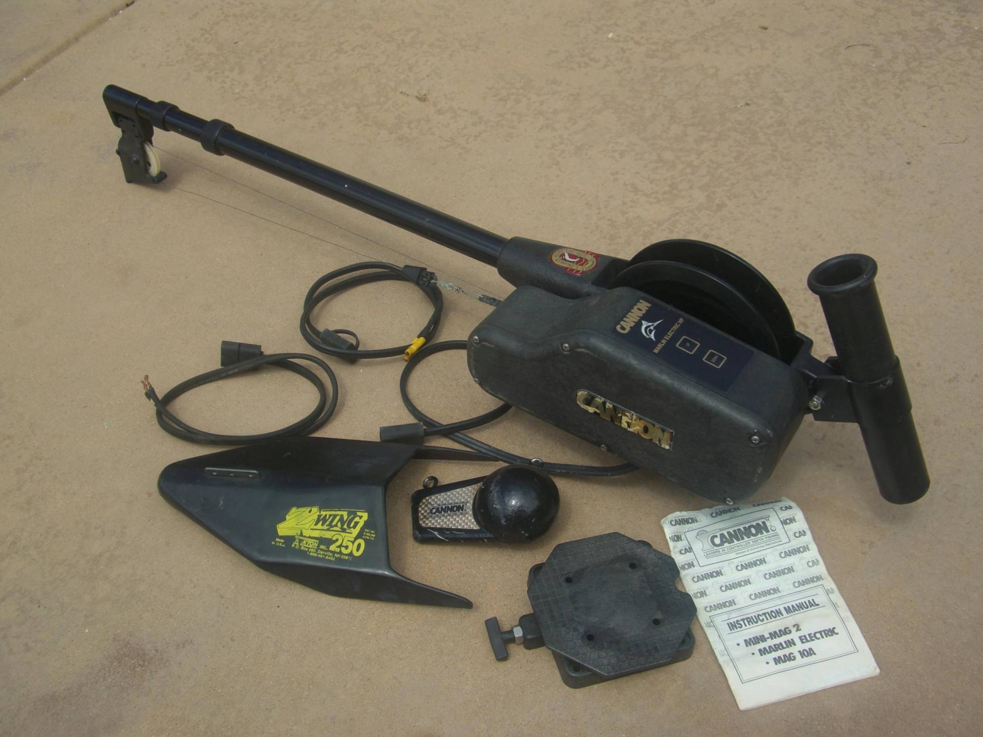 Canon Marlin Electric HP Downrigger and Accessories | Bloodydecks