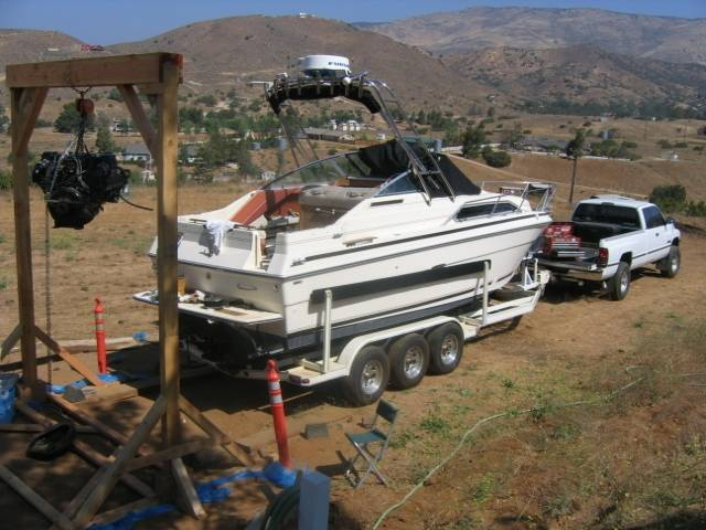 Build an engine hoist/change your bellows at the suggested ...