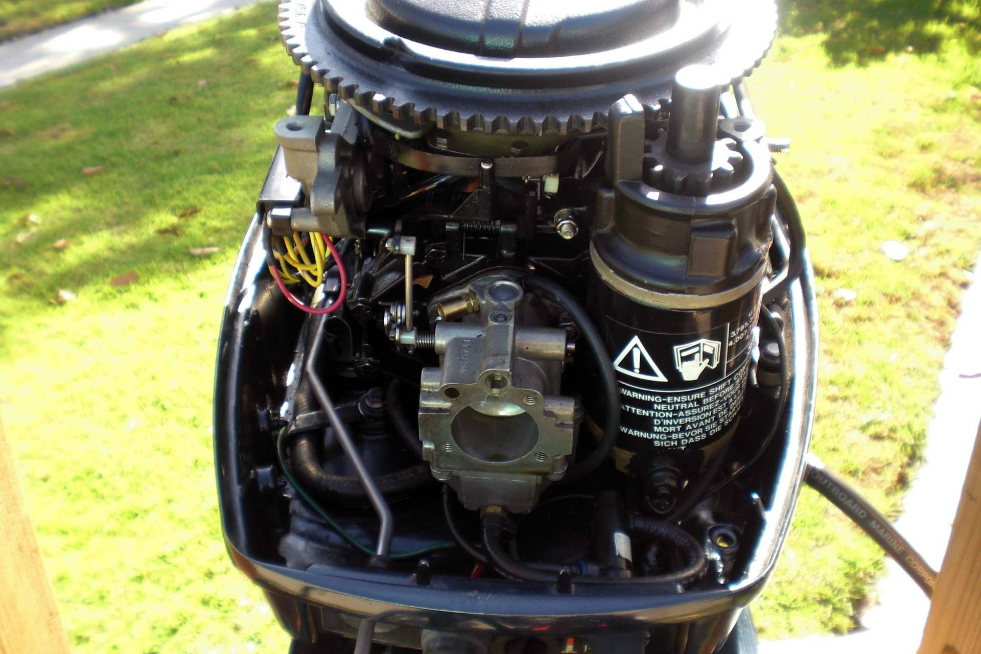 evinrude 1995 shaft 25hp