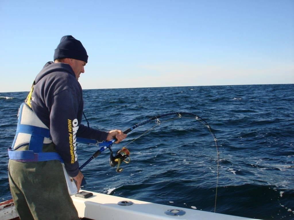 East coast bluefin tuna california style saltwater for Tuna fishing california