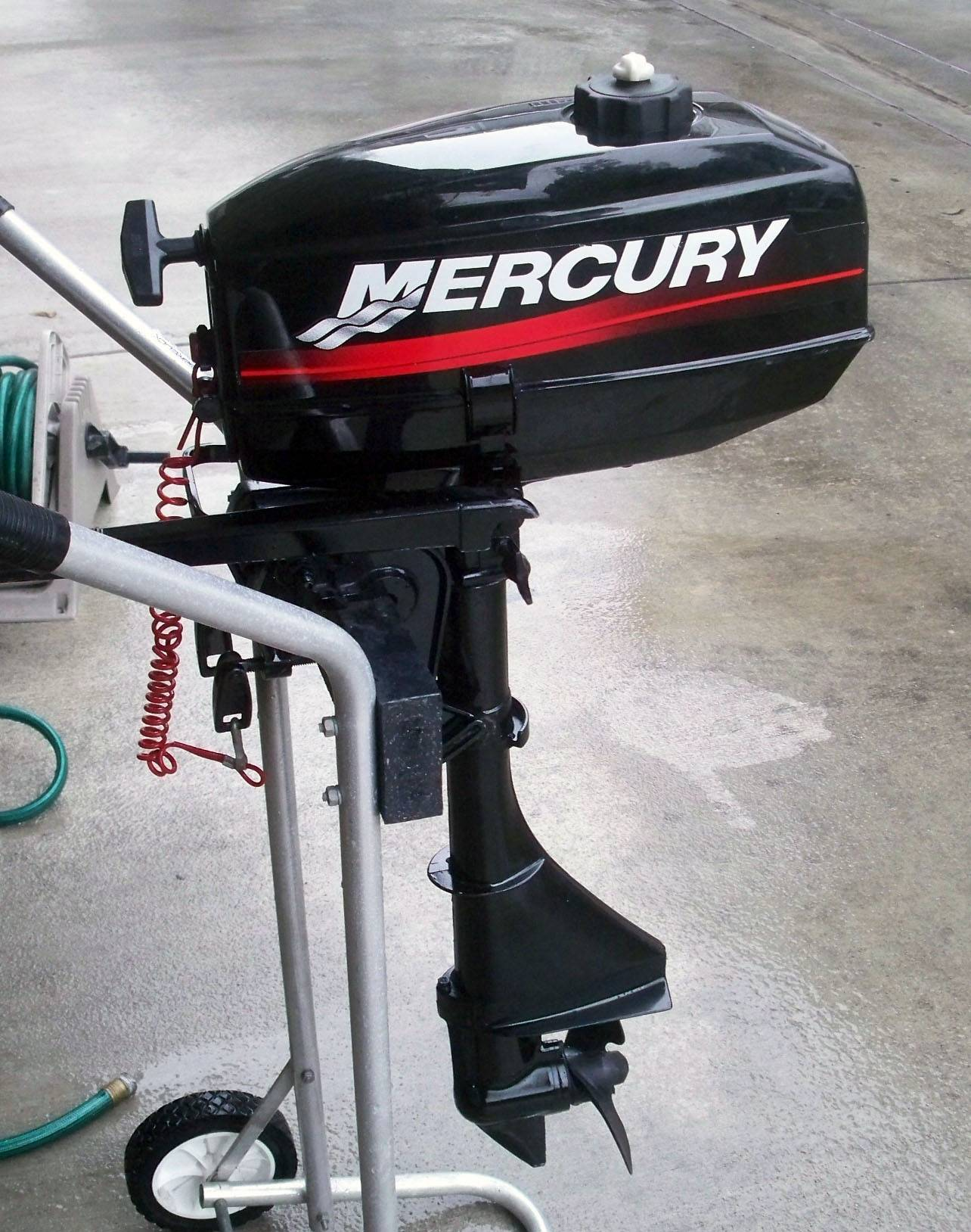 Mercury outboard motor 1 pull start year 2001 plus 5hp motor
