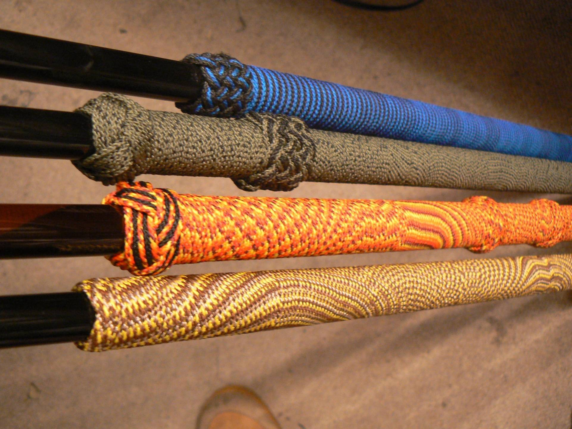 Grip wraps bloodydecks for Fishing rod handle wrap