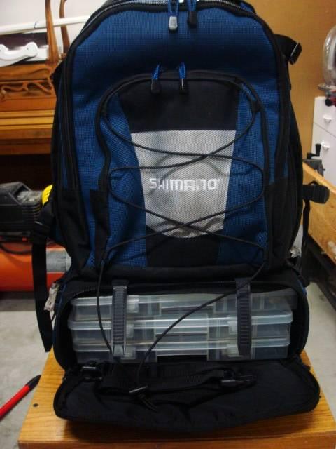 Shimano fishing backpack bloodydecks for Shimano fishing backpack