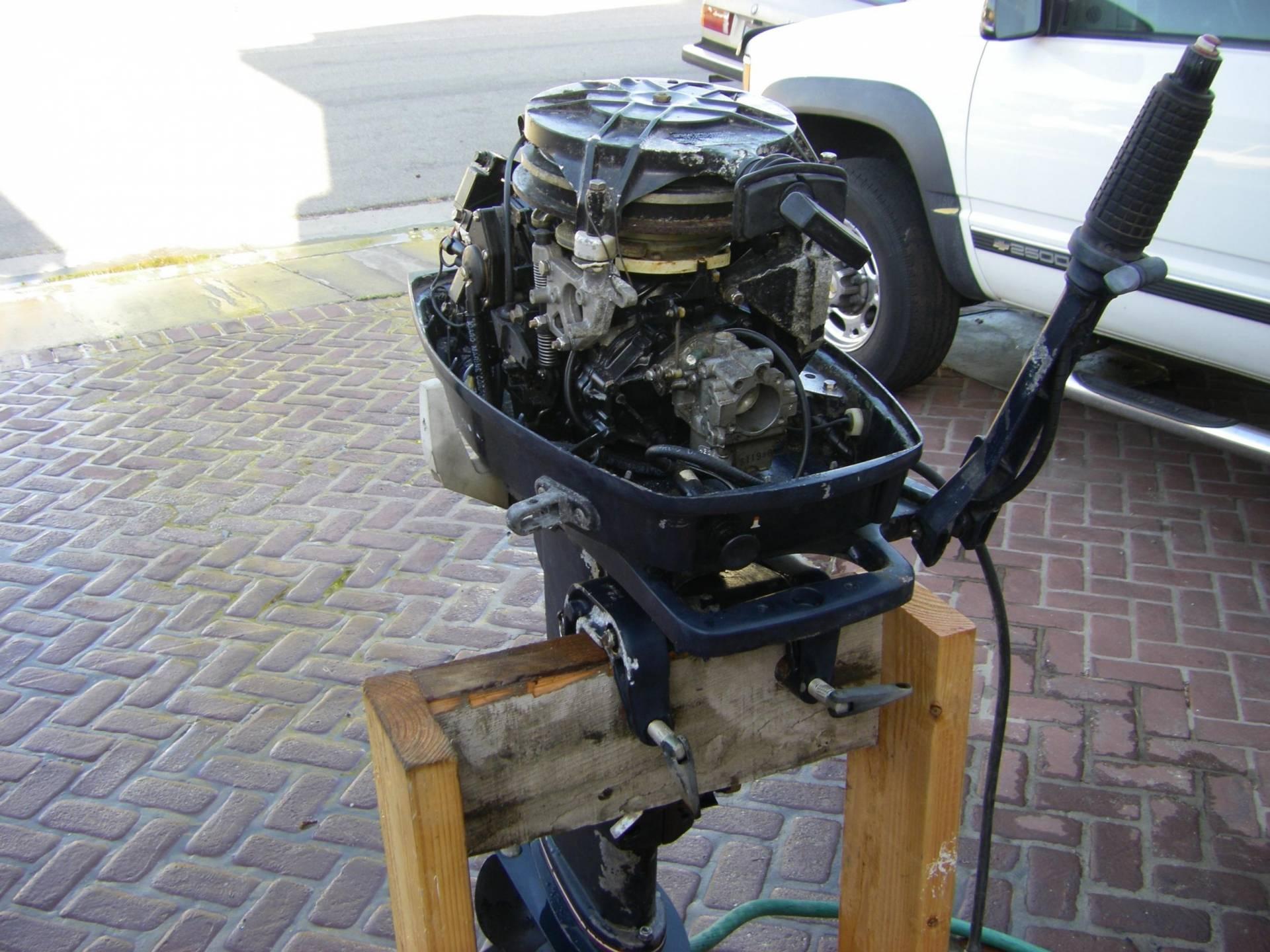 Evinrude 25 Hp >> 25 hp long shaft 2 stroke evinrude | Bloodydecks