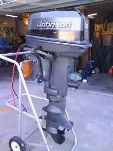 Johnson 28hp Spl Outboard Bloodydecks
