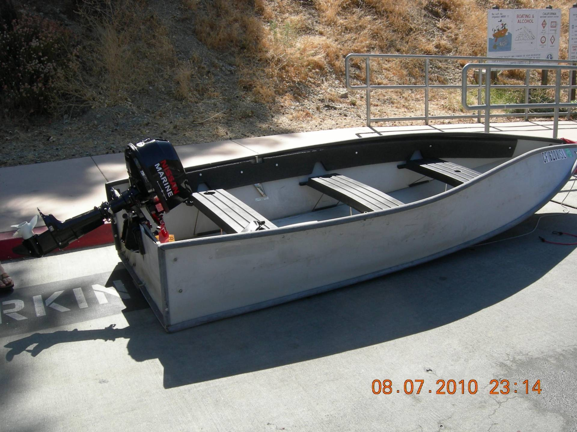 12 Porta Bote And Nissan Four Stroke 5hp Outboard