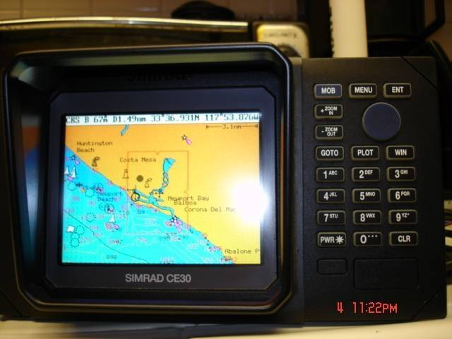 simrad ce30 fish finder / gps plotter | saltwater fishing forums, Fish Finder