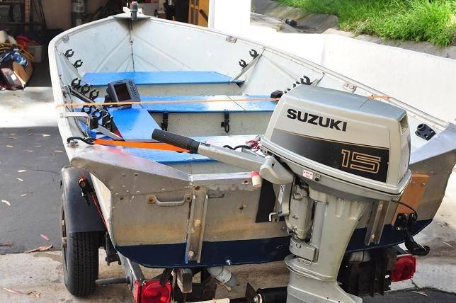 13ft Valco Aluminum Fishing Machine Bloodydecks