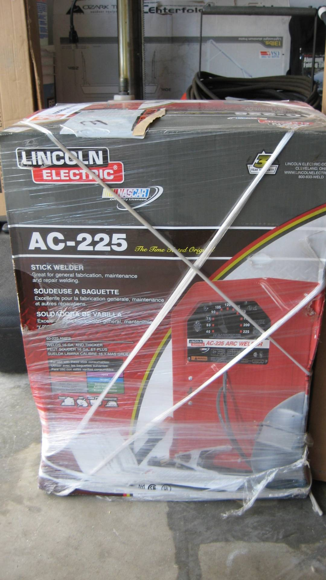 New Lincoln Stick Welder 125 Bloodydecks Garage Cleanout 005