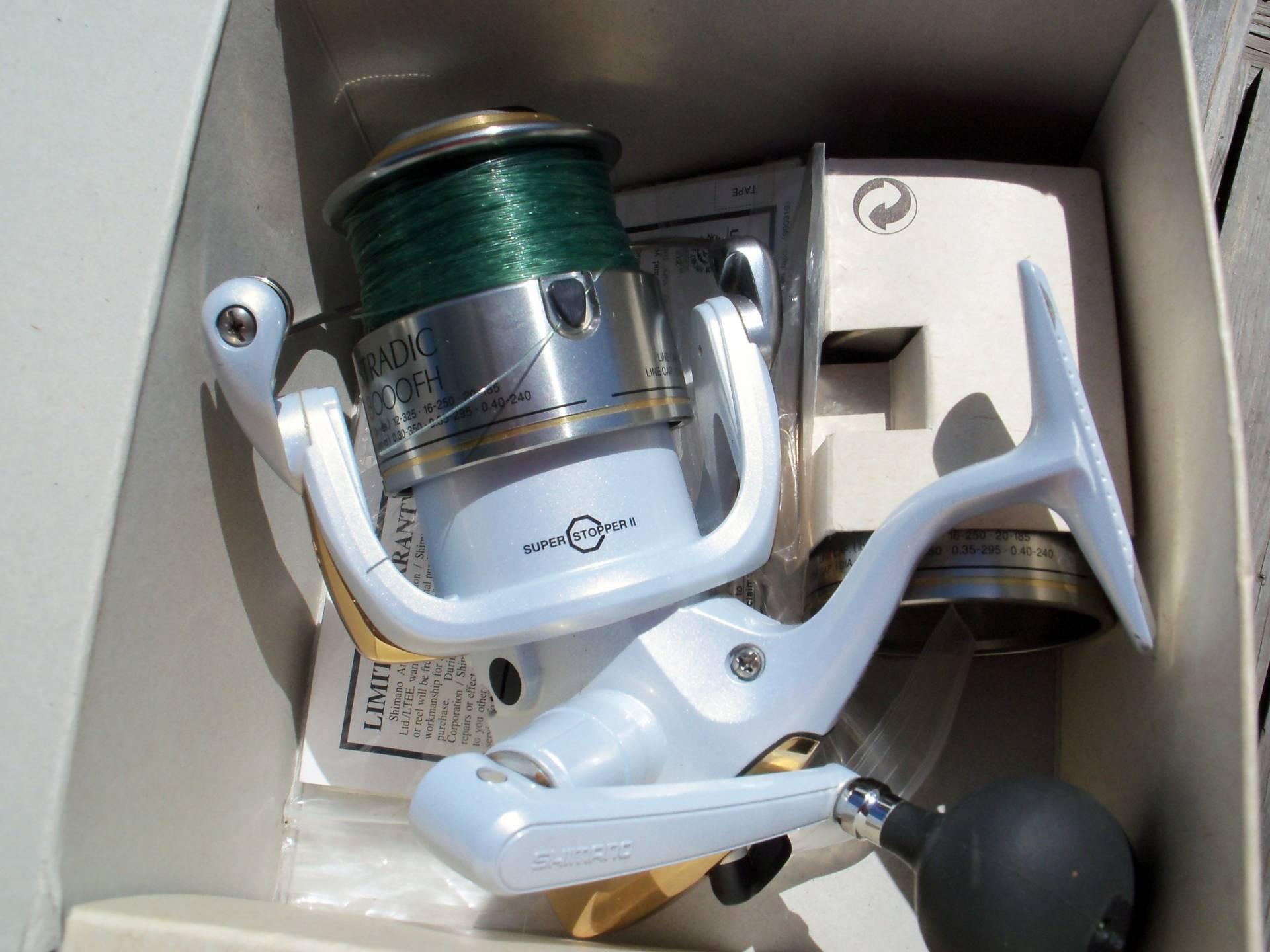 Shimano Stradic 8000 spining reel | Bloodydecks