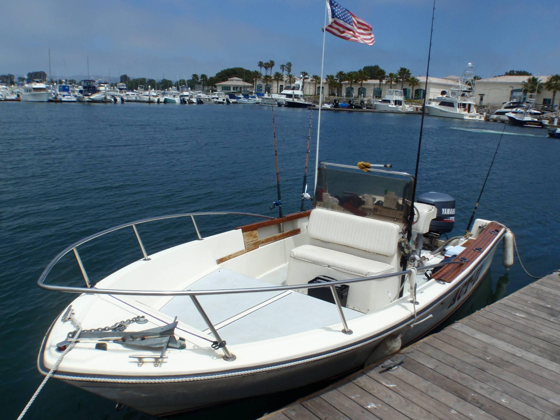 Yamaha Outboard Fishing Boat