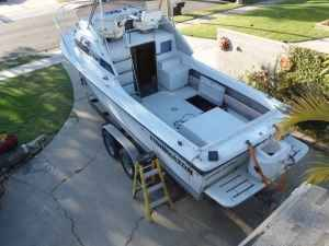 1987 skipjack 24 flying bridge - $4300 (southbay)ON