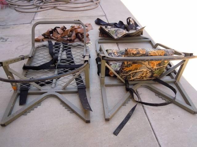 Treestand  Cabelas climber model | Bloodydecks