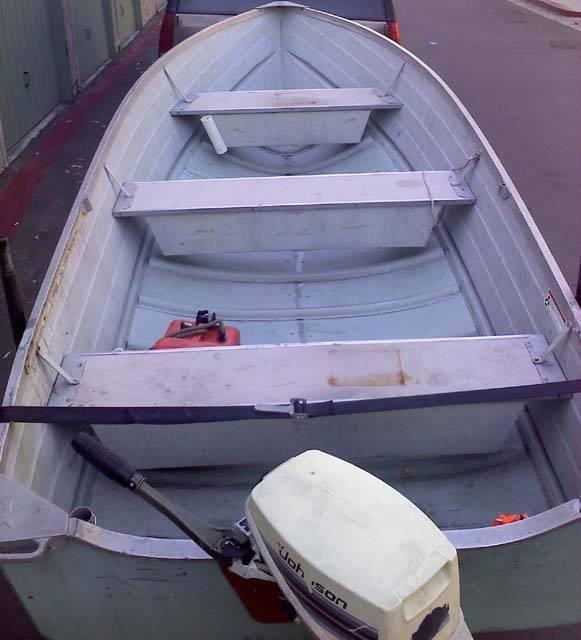 Starcraft Seafarer 14 Aluminum W 15 Hp Johnson Electric