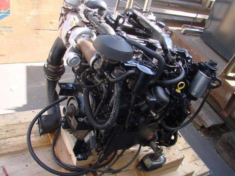 1 7L DTI MerCruiser Diesel engine and Mercruiser Alpha One Diesel