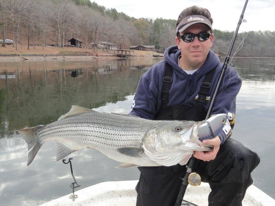 lake-ouachita-stripper-fishing