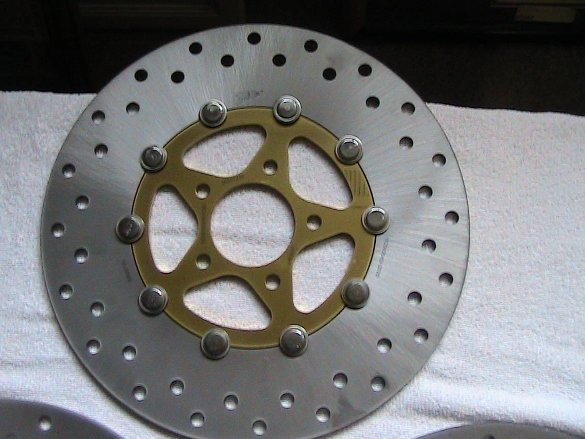 Harley brake rotors new | Bloodydecks