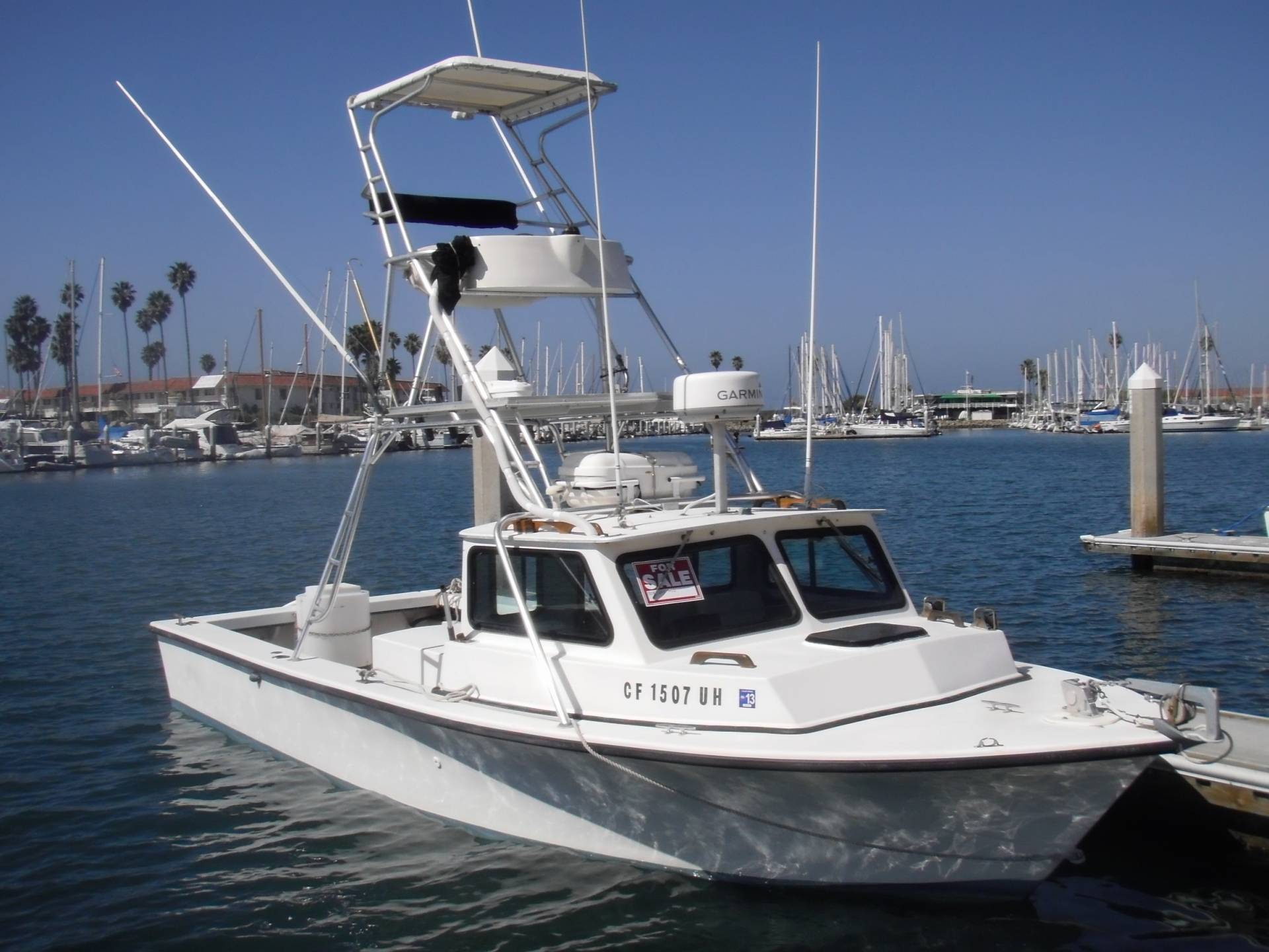 1990 25 39 c hawk sport cabin pilot house reduced 26 000 for Pilot house fishing boats