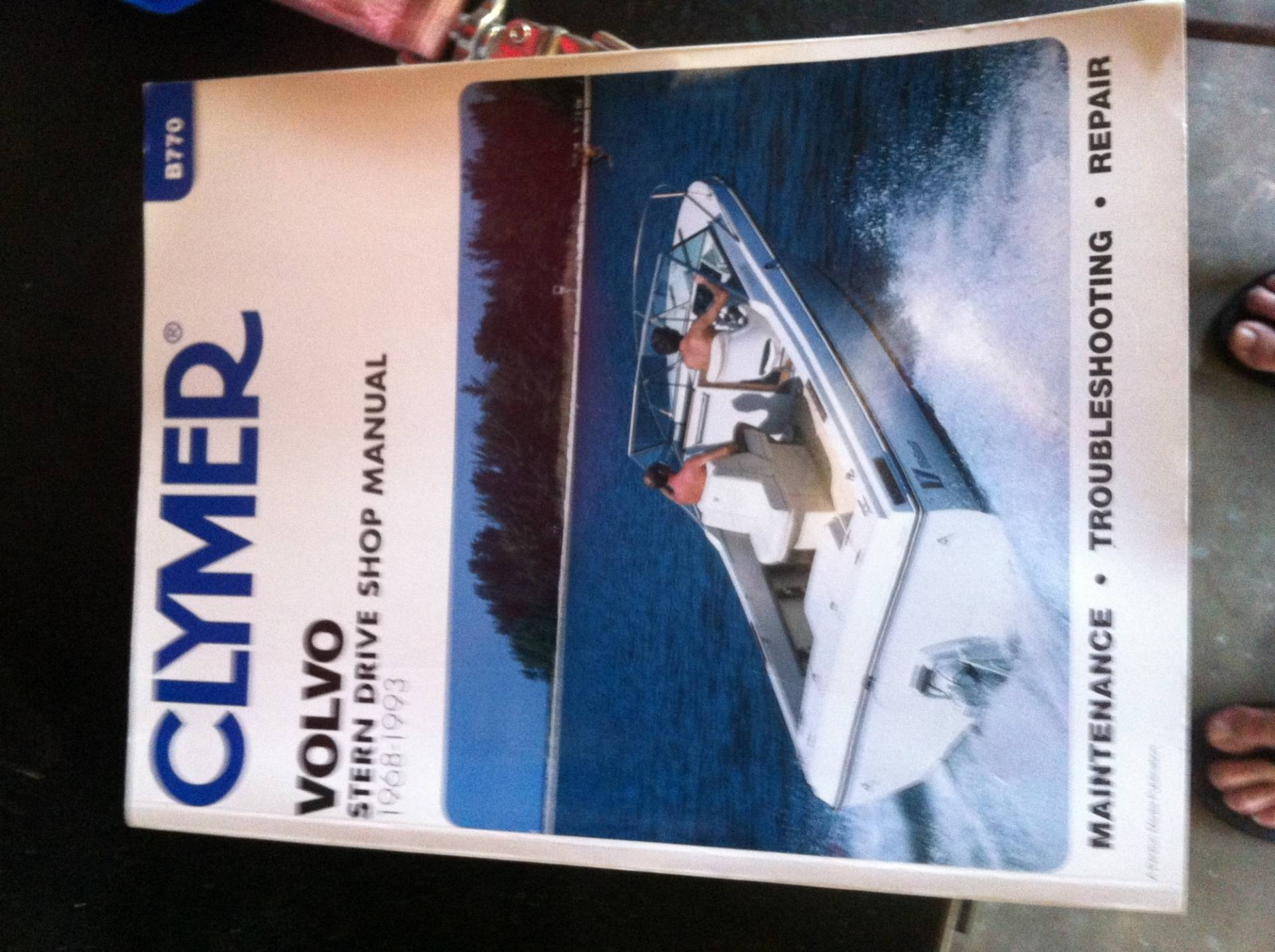 Clymer Volvo Penta Manual | Bloodydecks