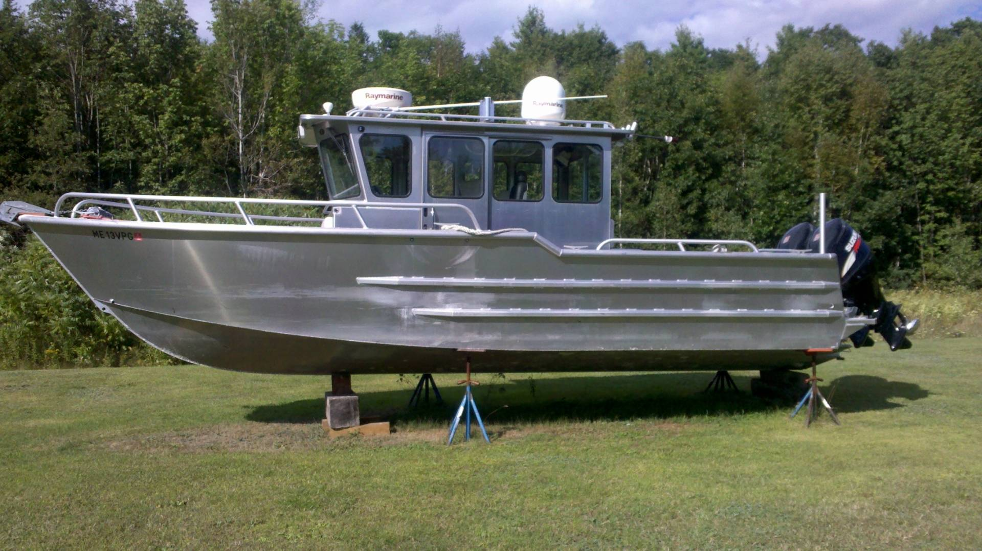 2007 29ft pacific skiff barely used bloodydecks for Used fishing boats for sale near me