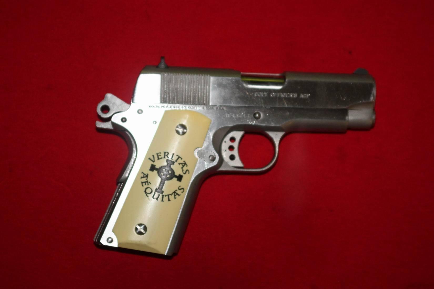 For Sale Colt 1911 Officers Model Bloodydecks