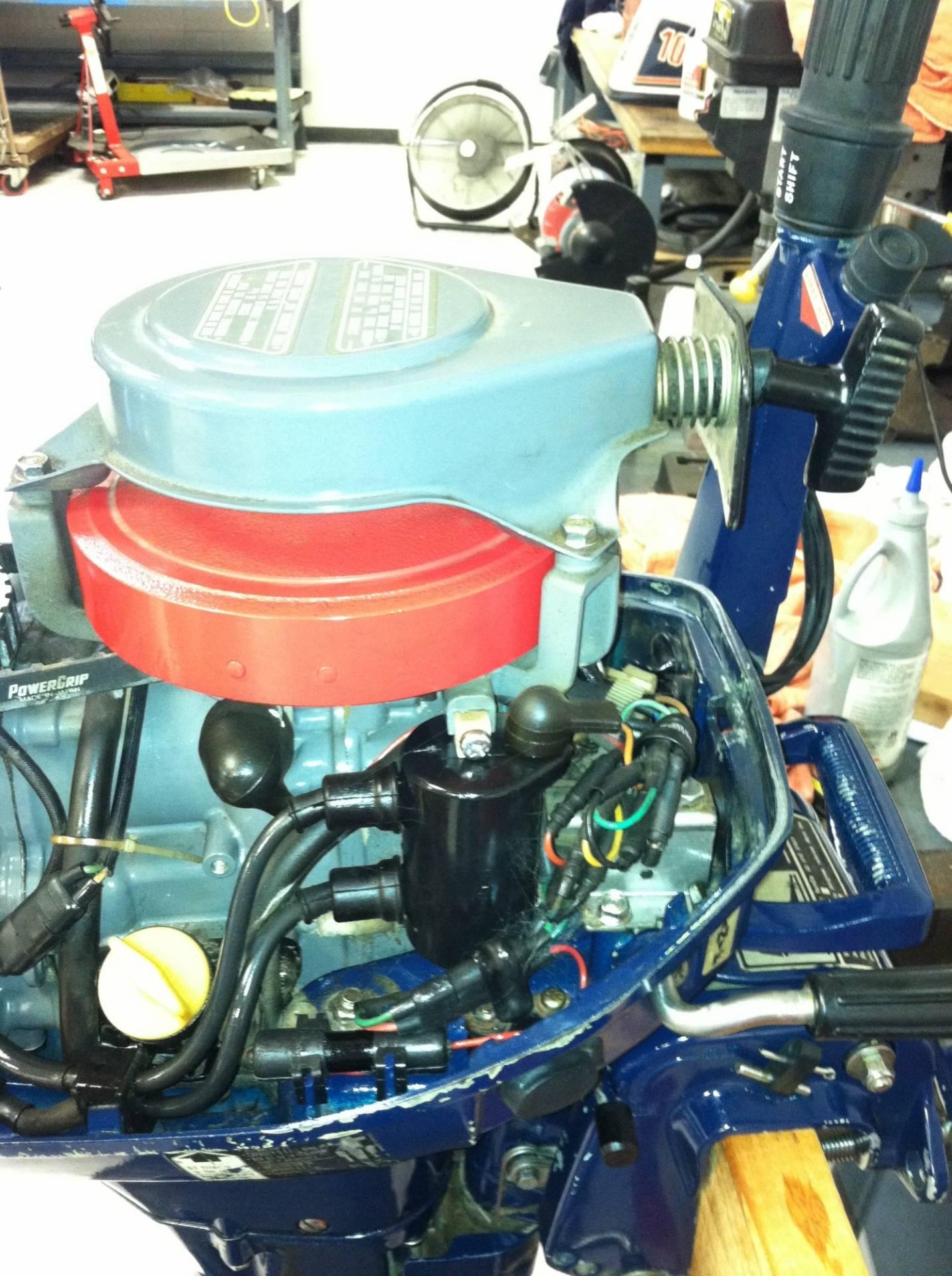 4 stroke honda 10 hp b100s outboard motor bloodydecks for Honda 4 stroke outboard motors