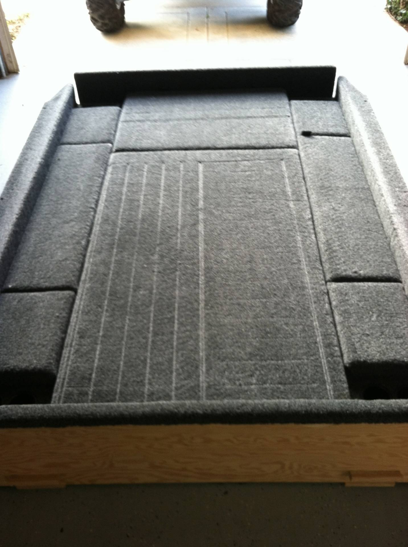 Toyota Tacoma Truck >> Truck bed carpet / camping kit   Bloodydecks