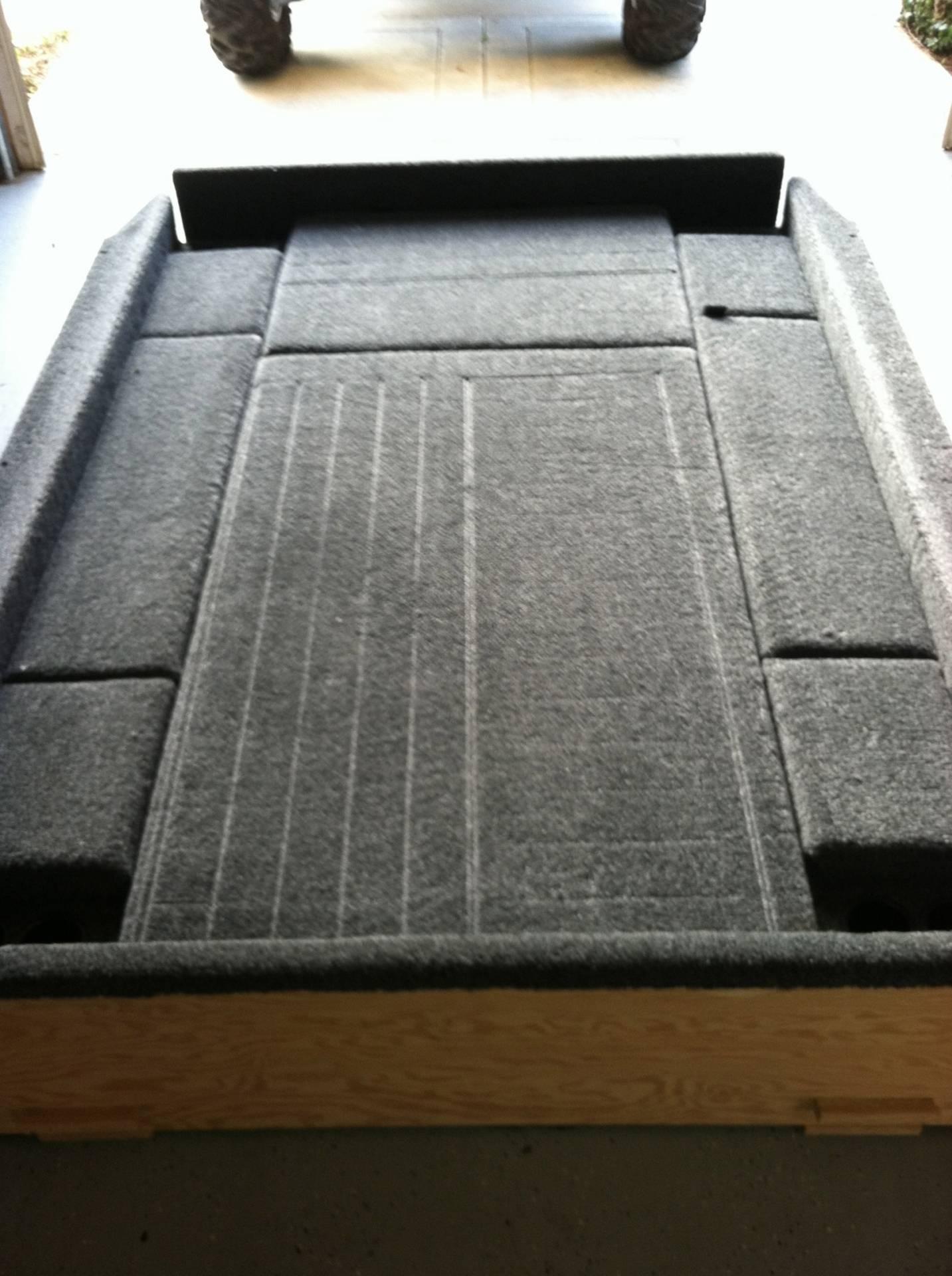 Truck Bed Carpet Camping Kit Bloodydecks