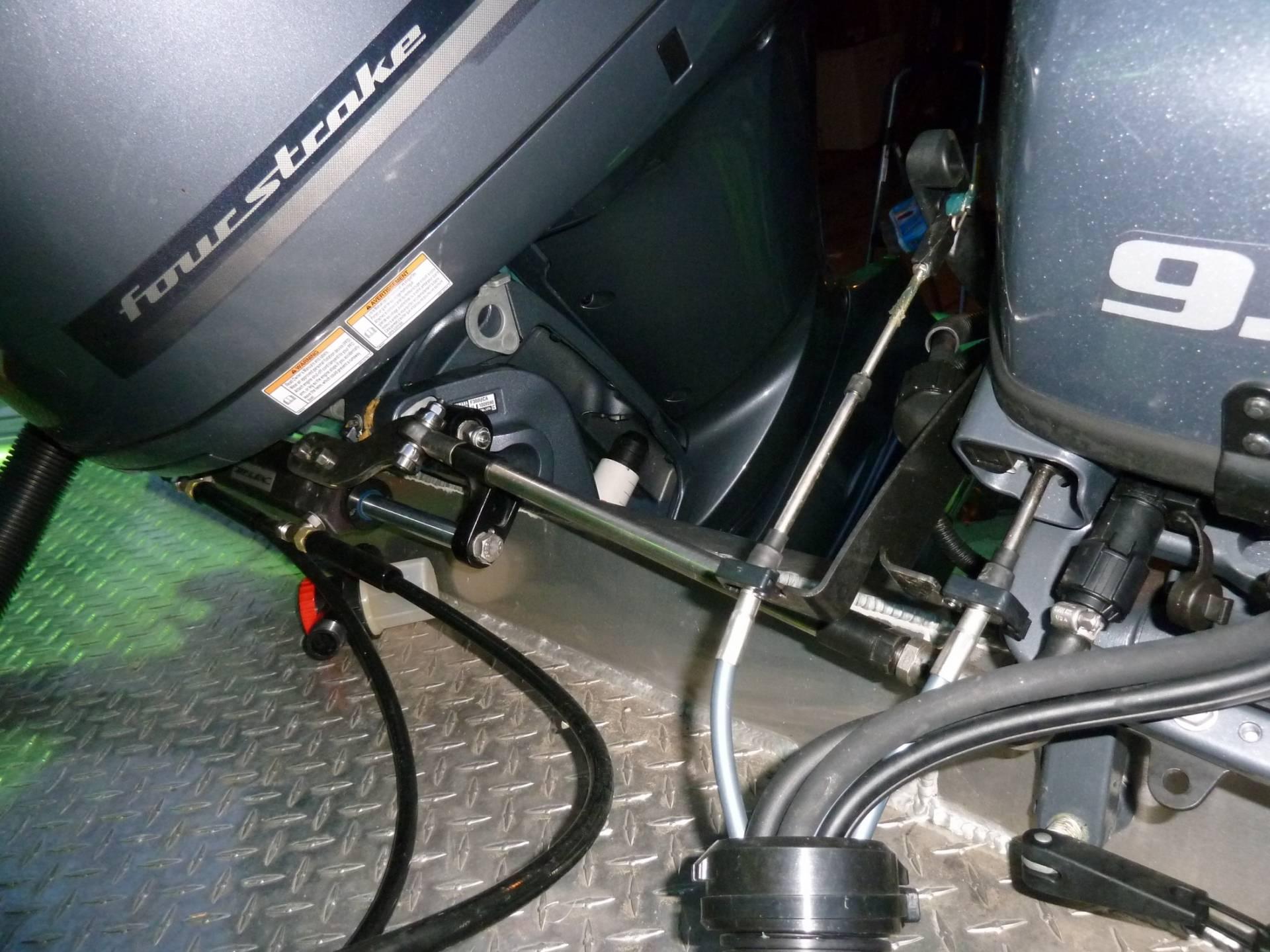 kicker motor hook up