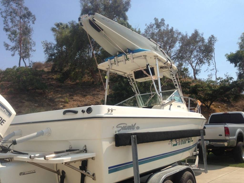 Have You Mounted A Kayak Rack On Hard Top Of Boat
