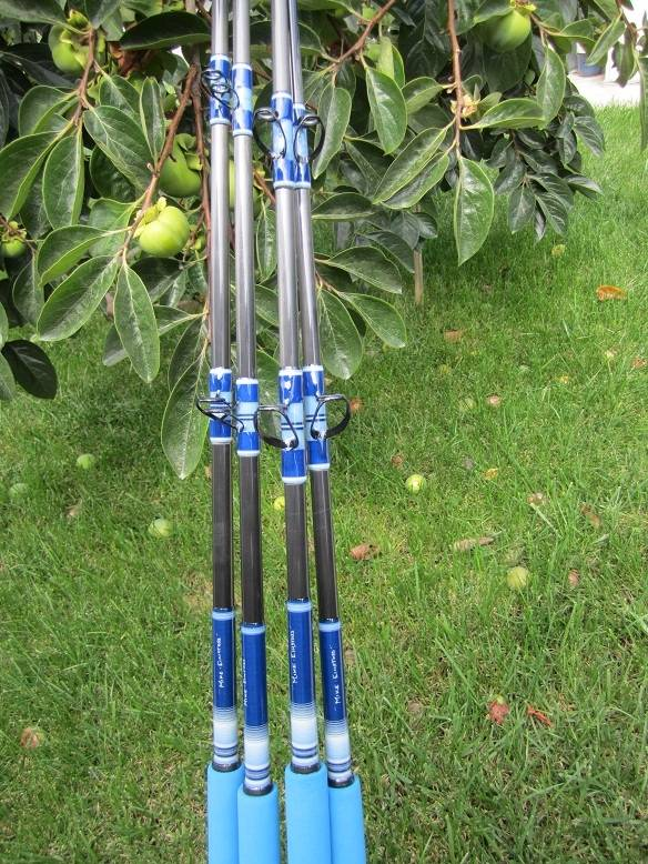 Calstar bloodydecks for Calstar fishing rods