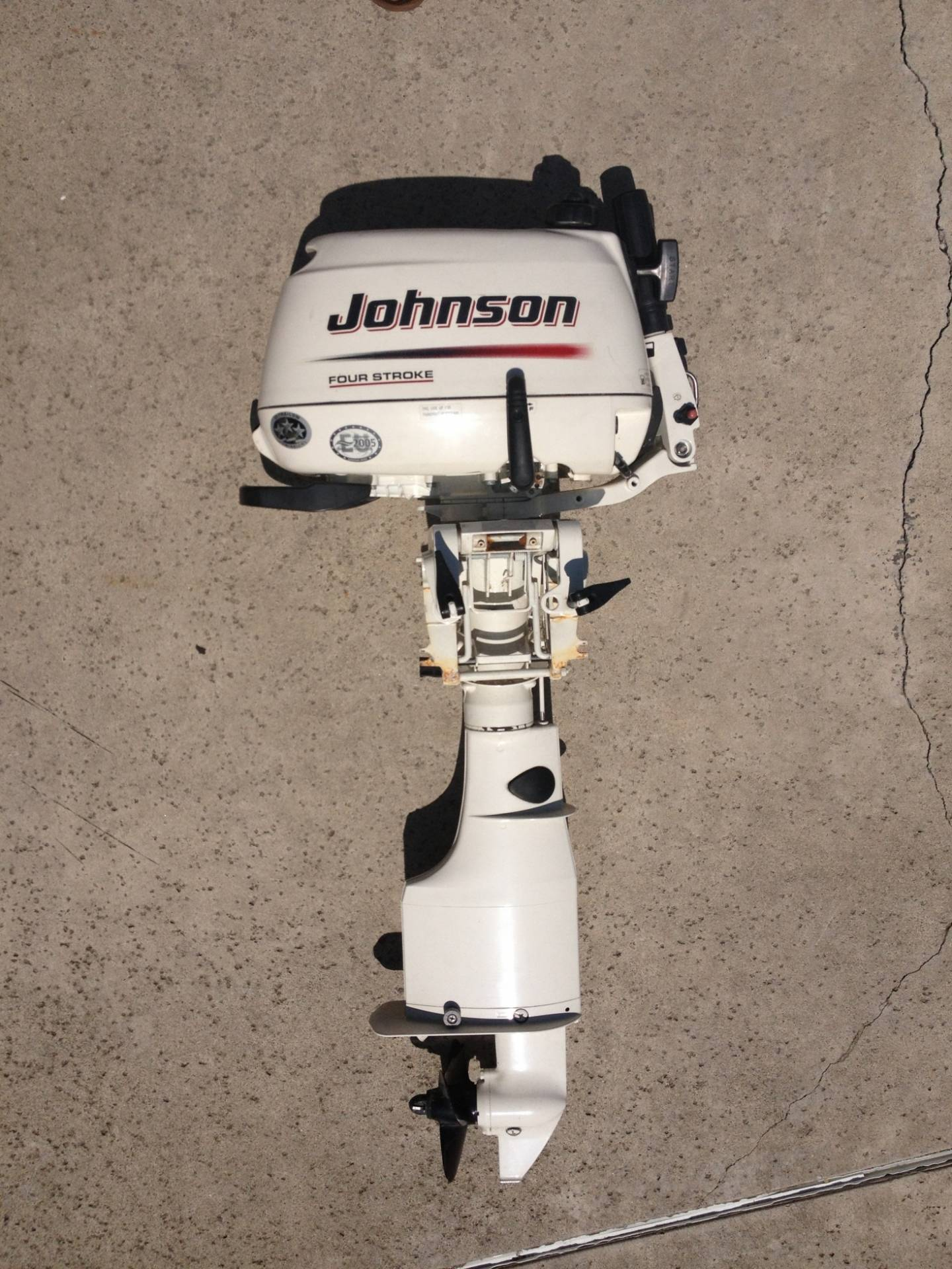 For sale johnson 4hp outboard motor bloodydecks for New johnson boat motors for sale