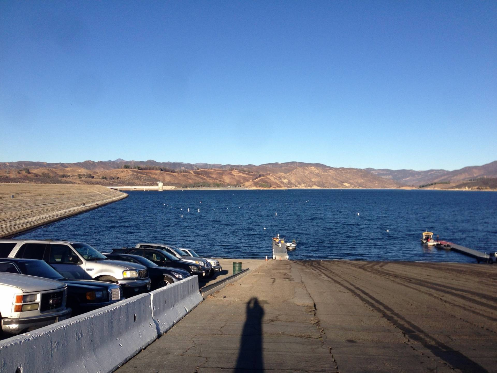Castaic lake report 12 01 with guide rich tauber for Castaic lake fishing