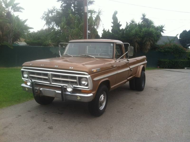 1971 Ford Dually 6500 Bloodydecks