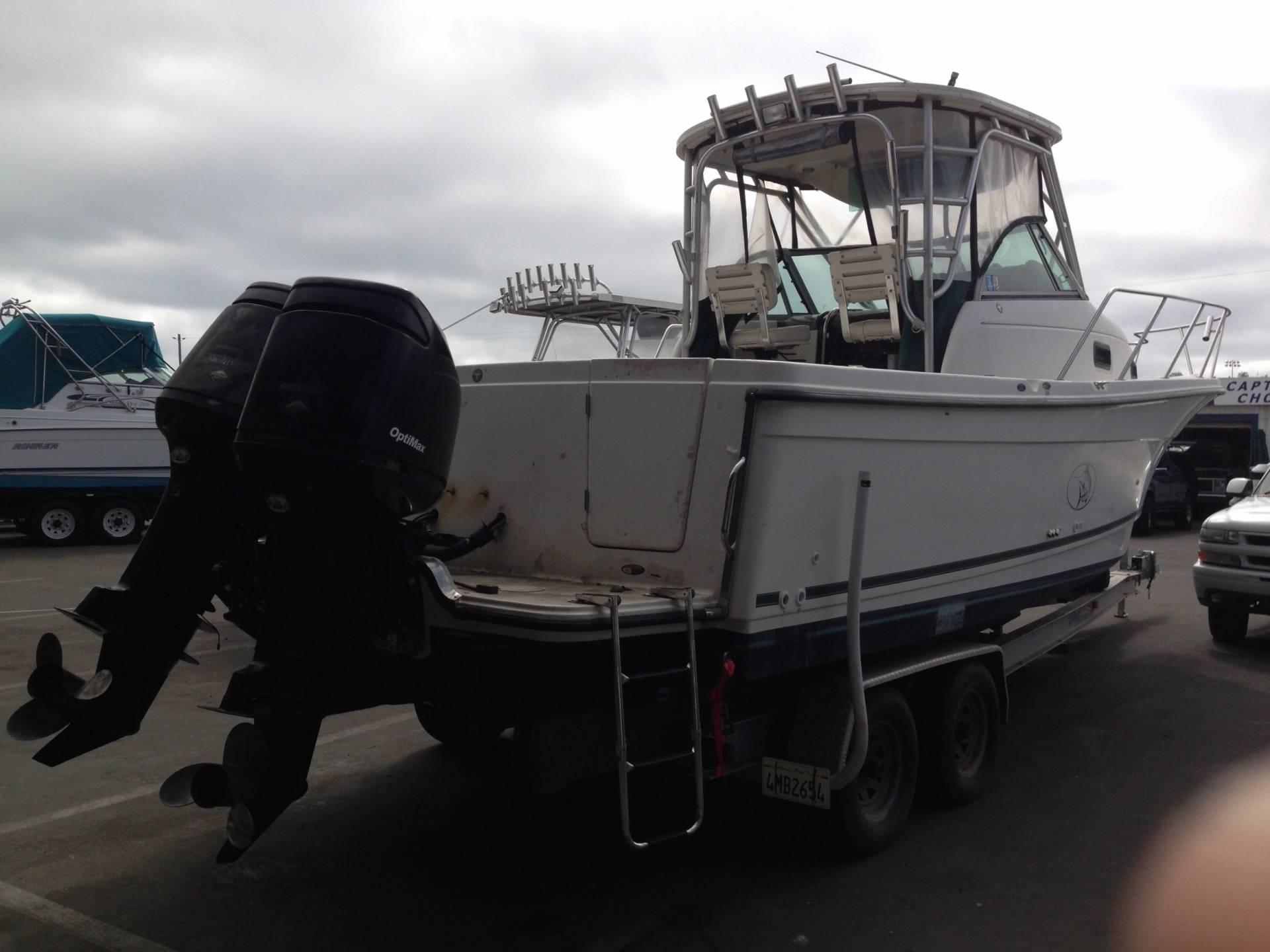 "Boat Trailer Brakes >> BOAT TRAILER FOR SALE 2006 ALUMINUM ""I""BEAM 2 AXLE HEAVY ..."