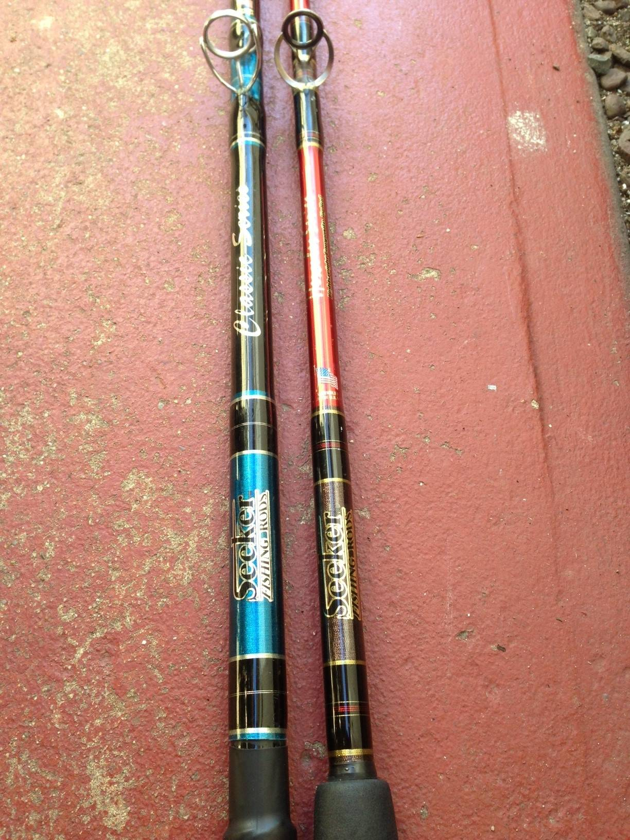 Various Saltwater Fishing Rods For Sale. Calstar 700XLH