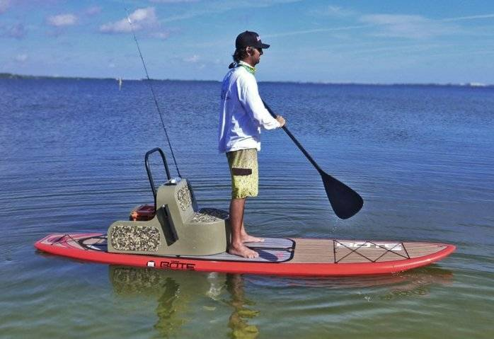 Ultimate sup paddle boards for fishing bloodydecks for Sup fishing board