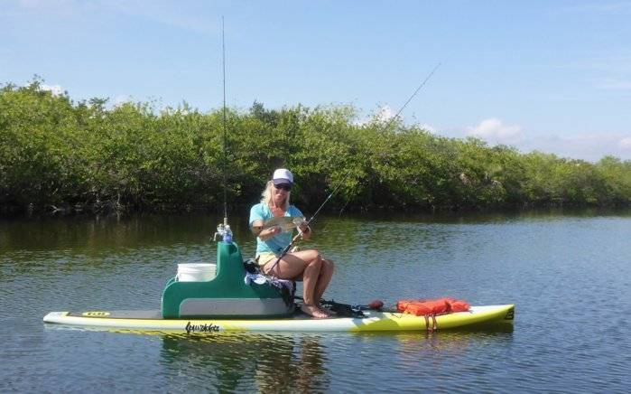 Sup paddle fishing reports bloodydecks for Bloodydecks fish report