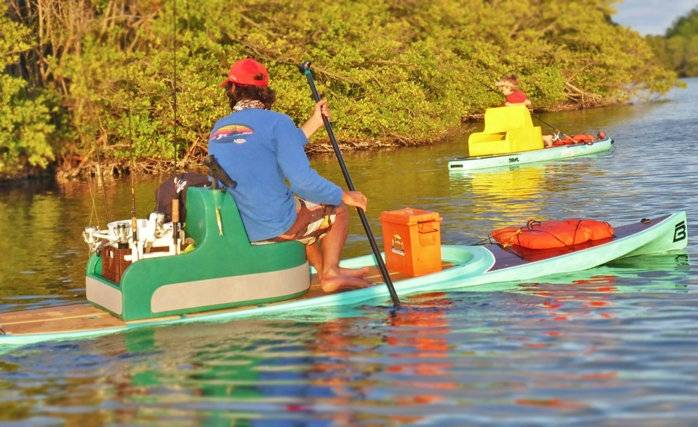 Captain Boat Seats >> SUP paddle board fishing report | Bloodydecks