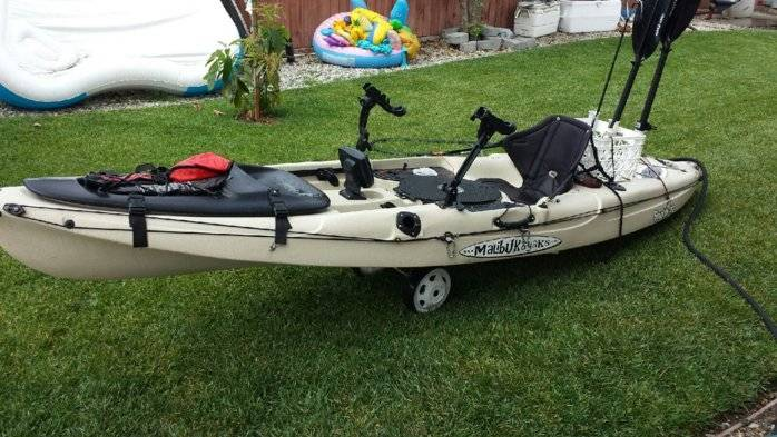 Malibu stealth 12 39 fishing kayak bloodydecks for Fishing kayak sale