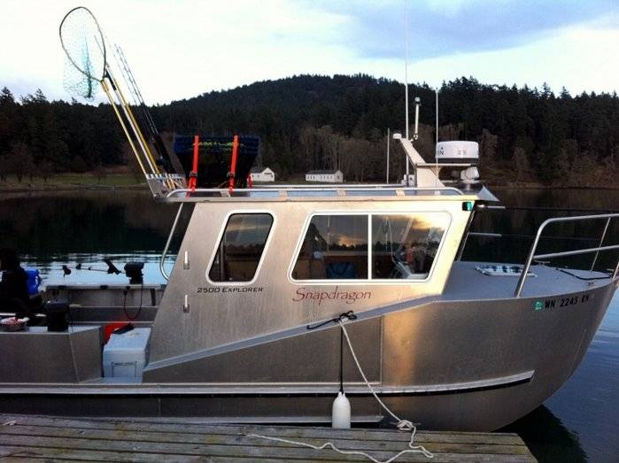 Aluminum Boats For Sale Bc >> 25' Aluminum Chambered Boats $79,500.00 | Bloodydecks