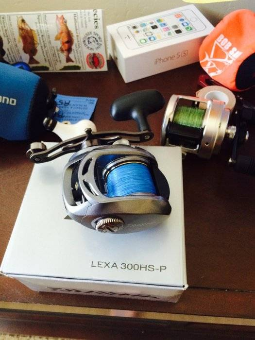 63acb19ad2b BNIB Daiwa lexa 300 Sold Okuma Cedros 10 star drag reel used once in box  SPFunds image.jpg
