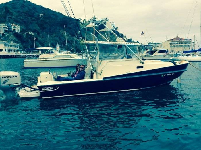 Costa Mesa Honda >> Boston Whaler 25' Revenge with tower & Honda 225   Saltwater Fishing Forums
