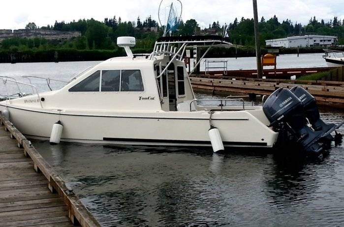 1999 C Dory Tomcat 24 With 2012 Yamaha F115 Outboards