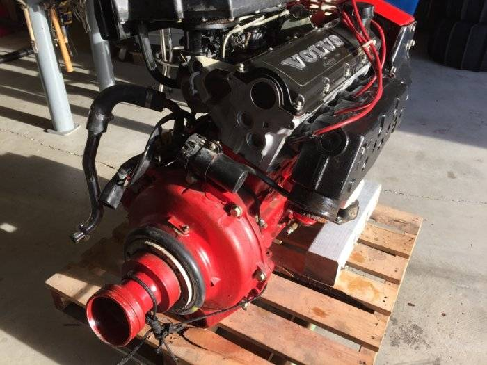 volvo inboard outboard 250a aq151 4cyl engine 151hp excellent rh bdoutdoors com Volvo Trucks Volvo Penta Cooling System Diagram